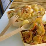 Käse-Kartoffelgratin <BR>in der Auflaufform