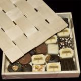 Schokoladen-Geschenkbox mit Deckel